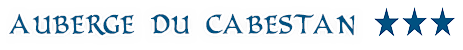 Auberge du Cabestan - German version Logo