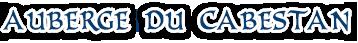 Auberge Du Cabestan Logo